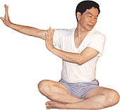 Mantak Chia - Taoyin exercise to open the tendons and your shoulders